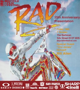 Bicycle Film Festival – London – RAD Screening