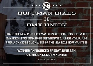 Hoffman X The Union – 2012 Apparel Giveaway