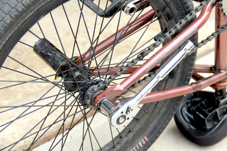 How To Center Your Back Wheel When Tightening