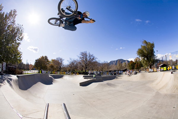 Troy McMurray BMX