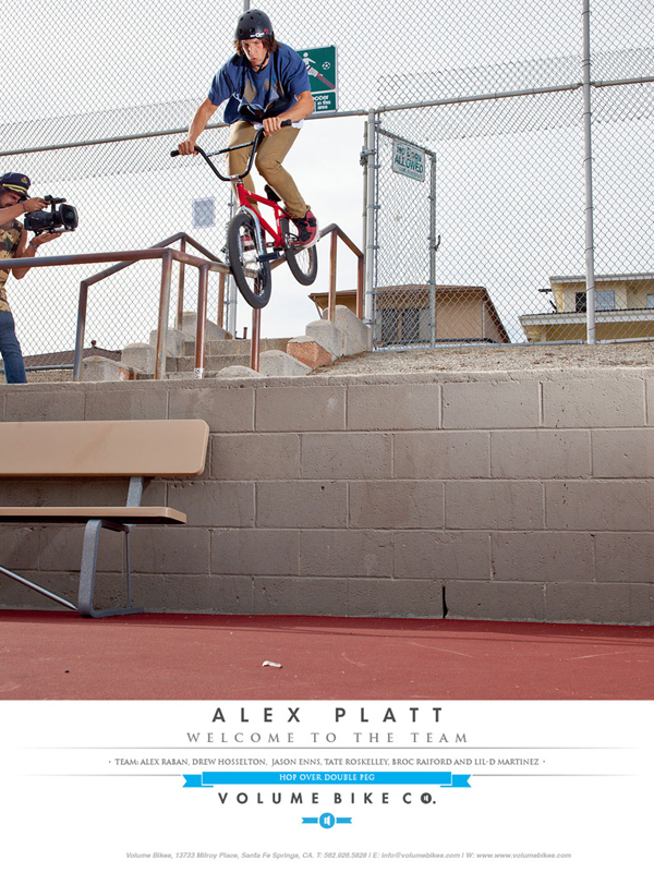 Alex Platt BMX Volume Bikes