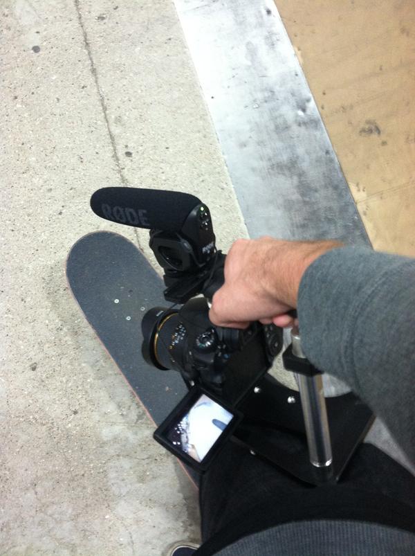 BMX filming