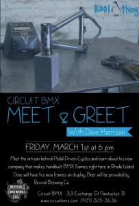 Circuit BMX – Meet & Greet with Dave Harrison