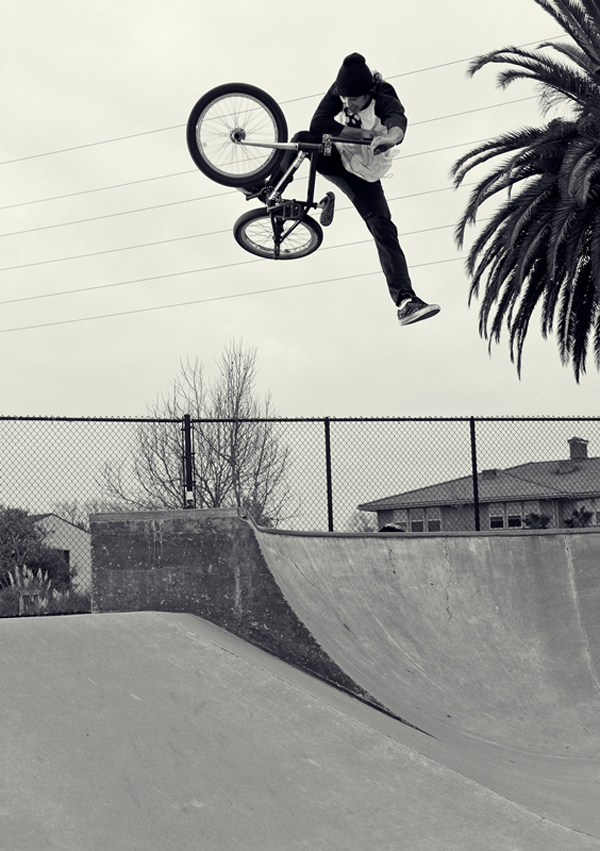 Cory Anderson steezing a one footed table