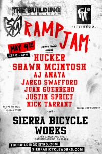 S&M Ramp Jam at Sierra Bicycles