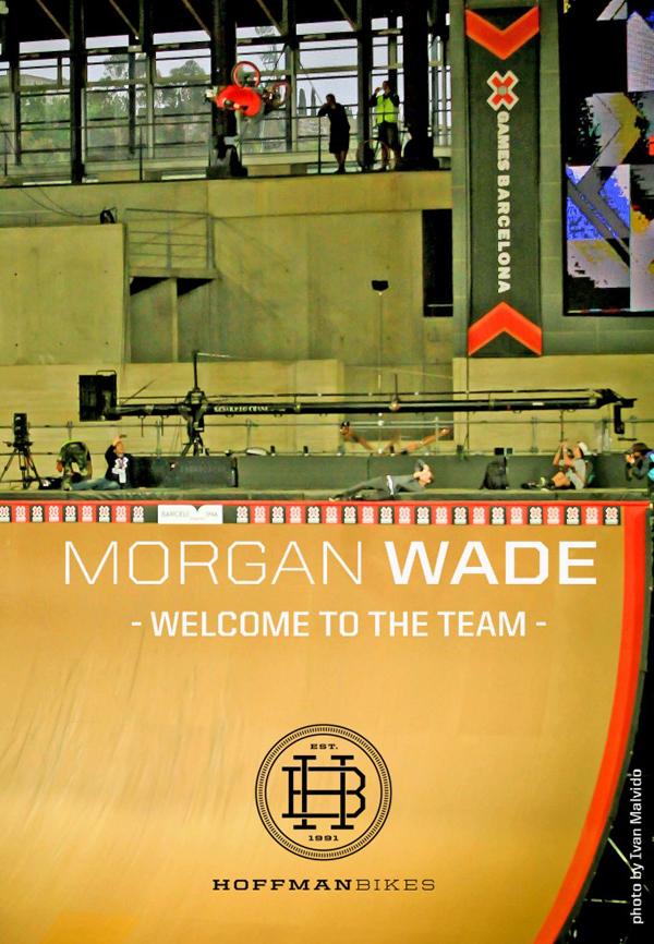 Morgan Wade Hoffman Bikes BMX