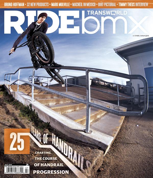 Ride BMX Iz Pulido Issue 191