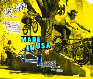 Print Ad: S&M Bikes – Cam Wood