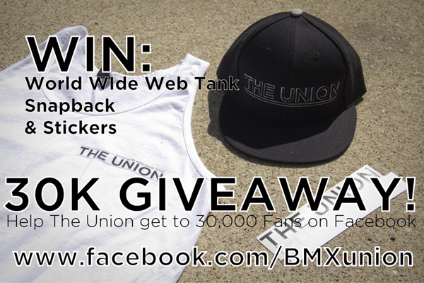 BMX Union Giveaway Facebook