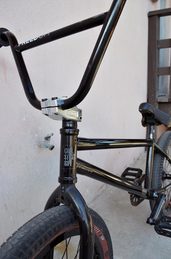 Demarcus Paul BMX bike