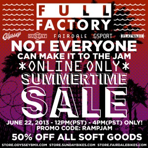 Full Factory Distribution – Summer Time Sale