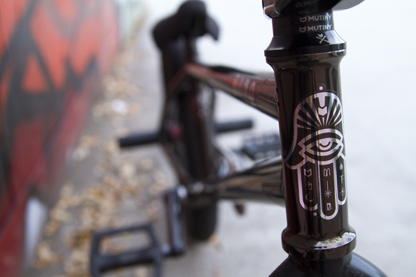 Mutiny BMX bike
