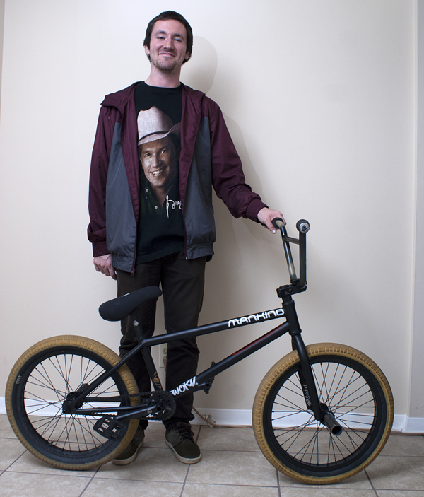 Jordan Stump BMX bike check