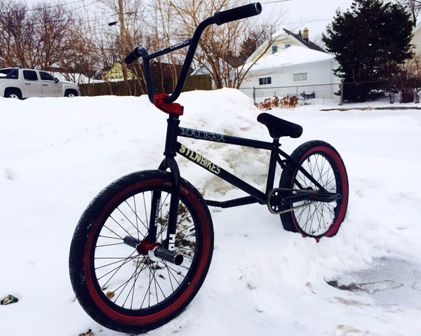 Dan Kruk BMX Bike Check