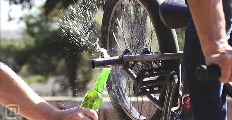 St. Patricks Day Beer Tricks BMX Bike