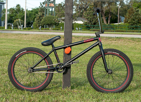 Ryan Sher BMX bike check