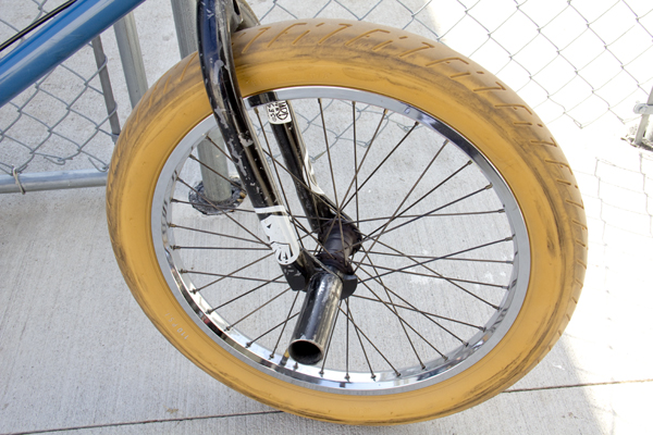 BMX bike tires