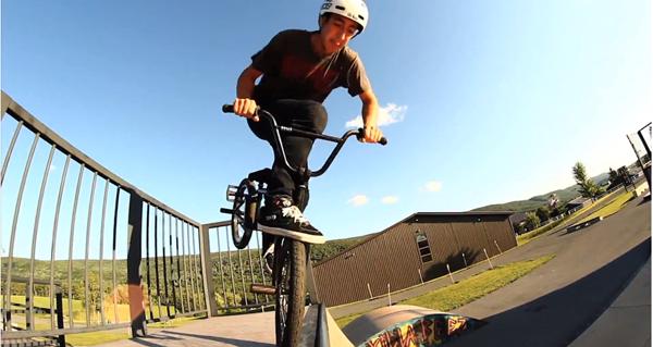 Jay Dalton BMX video