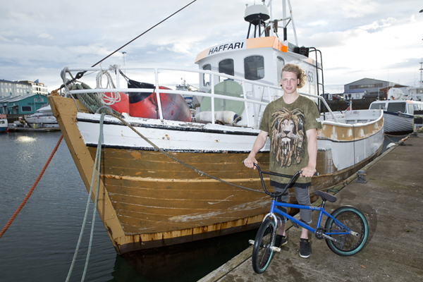 Anton Arnarson BMX bike check