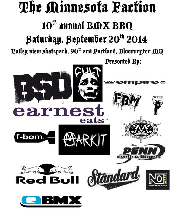 Faction – 10th Annual BMX BBQ