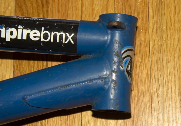Macneil Ruben BMX frame