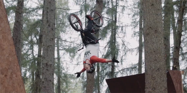Red Bull Dark Woods BMX Morgan Wade Drew Bezanson