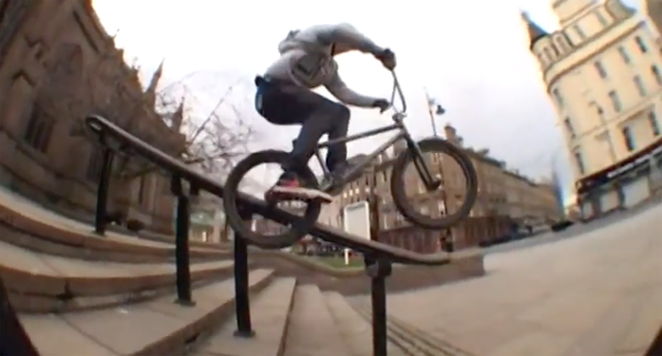 Alex Donnachie Nearly 3 BMX video