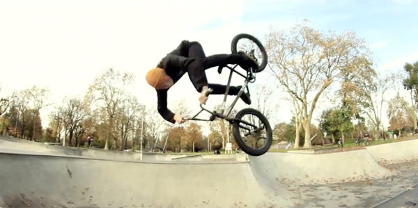 David Budko London BMX video