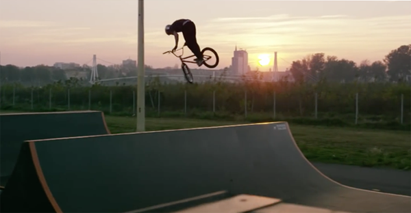 Marin Rantes Red Bull BMX video