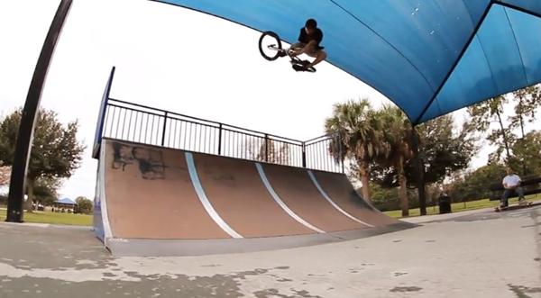 BMX video Azalea Skatepark