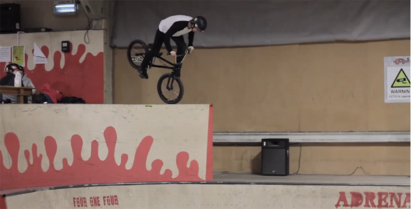 Joe Roofe BMX video