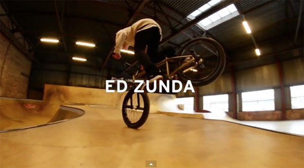 Ed Zunda BMX video