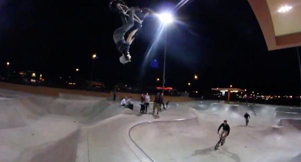 Craig Ranch Skatepark Matt Closson BMX video