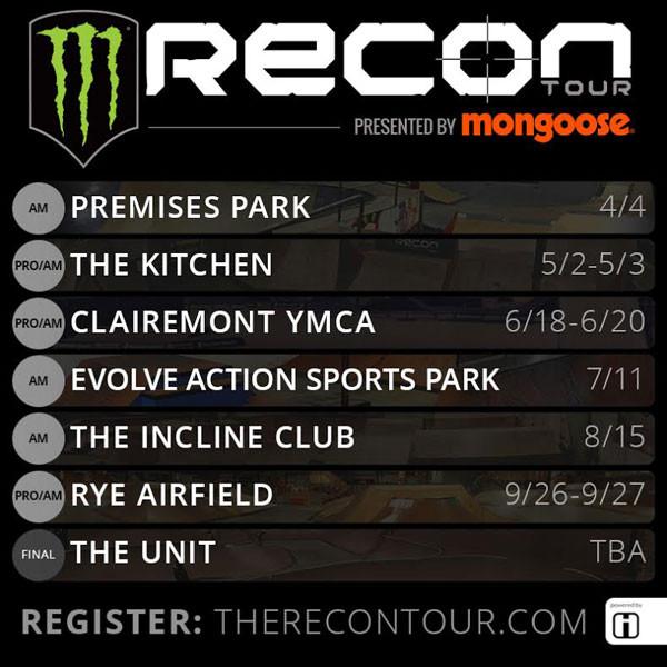 2015 Monster Recon Tour Dates Announced