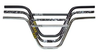 "FIT BIKE CO VANDLEBAR VAN GLOSS CLEAR RAW BARS HOMAN 9 9/"" HANDLEBAR BAR BMX BIKE"