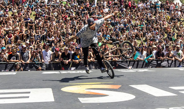 Matthias Dandois BMX Flatland FISE Montpellier 2015
