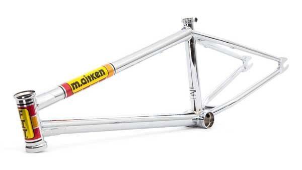 Product: Fit Bike Co. U2013 Limited Edition Chrome Moto Mike Frame