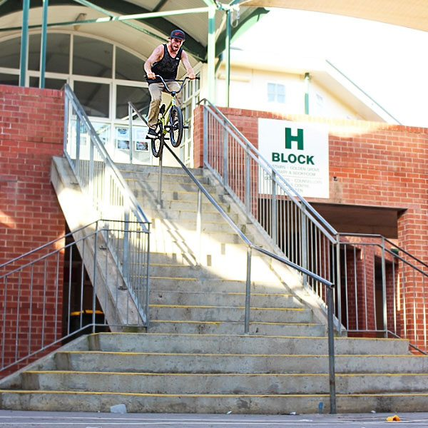 Sam Waters Wethepeople BMX Australia BMX International