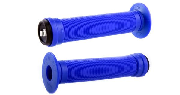 Velo Mushroom Style Long Grips With Plugs-150mm-Black-New