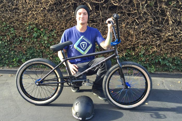 Anthony Napolitan on Colony BMX