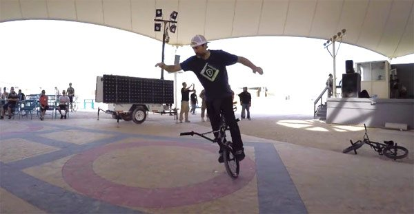 Chad DeGroot Bikes Over Baghdad BMX video
