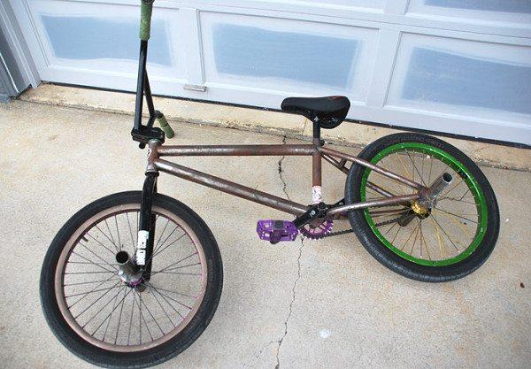 Eric Mesta Bike Check