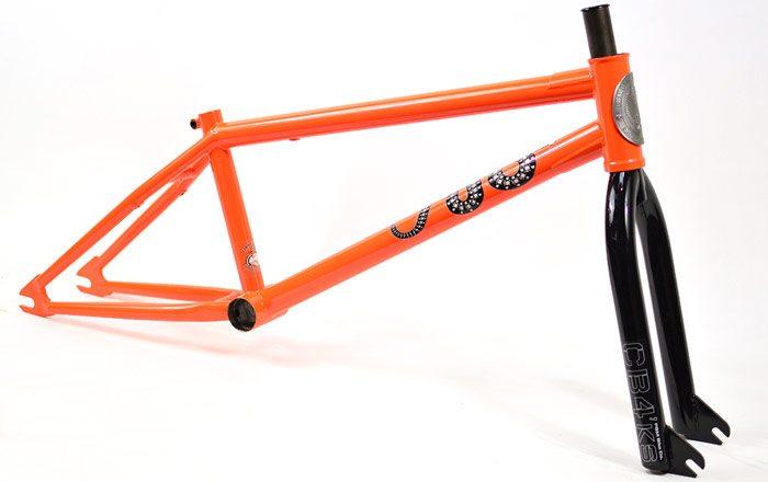 FBM Hardway BMX Frame Safety Orange