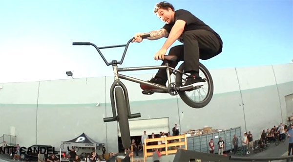 Ham Am 2015 BMX contest video Tip Plus Vital BMX