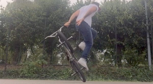 James White BMX video