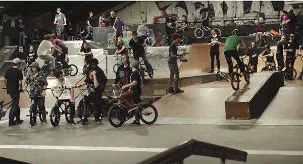 Kyle Mileski Birthday BMX Jam at 3rd Lair video