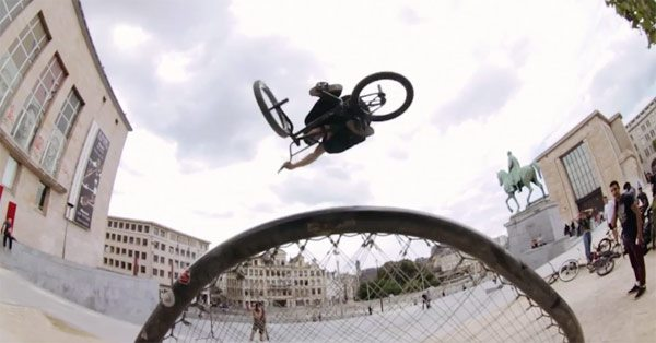 Orange Juice 2015 Mixtape BMX video