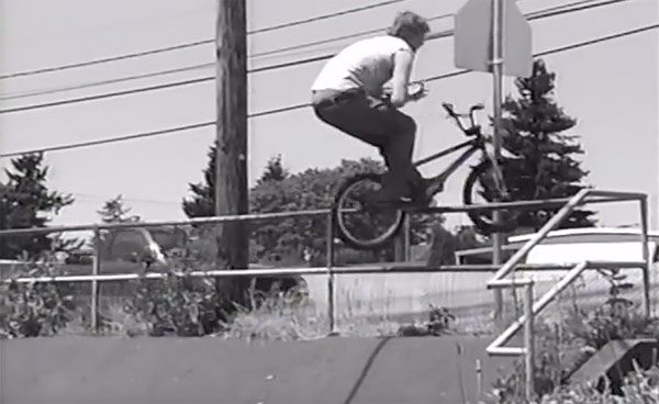Rich Hirsch Salvation BMX video