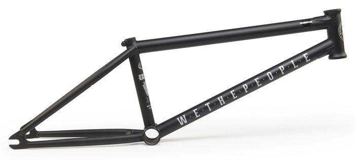 wethepeople-buck-bmx-frame-matte-black