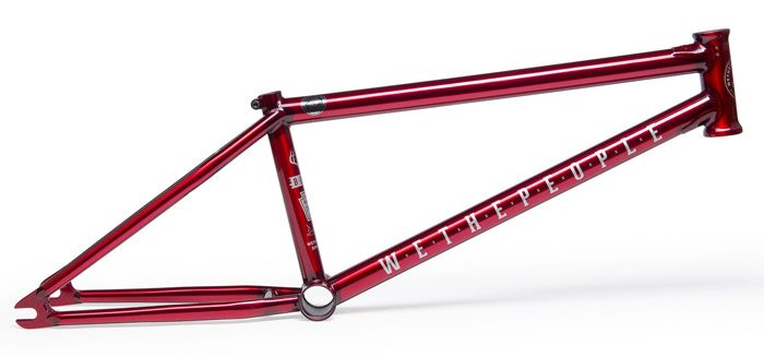 wethepeople-buck-bmx-frame-red